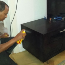 TV Stand Damage Repair