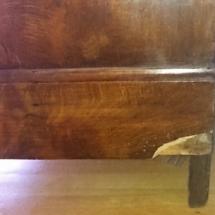 Cabinet veneer damage