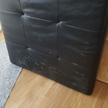 Couch leather abrasion