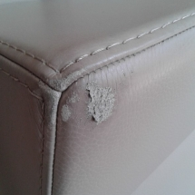 Leather Couch damage
